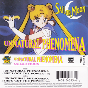 Sailor Moon - Unnatural Phenomena Cassette