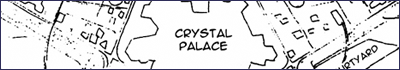 Map of the Crystal Palace