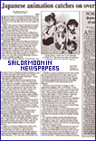 Sailor Moon in Newspapers