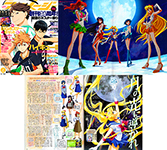 Sailor Moon Crystal Article in Animage July 2014 Issue