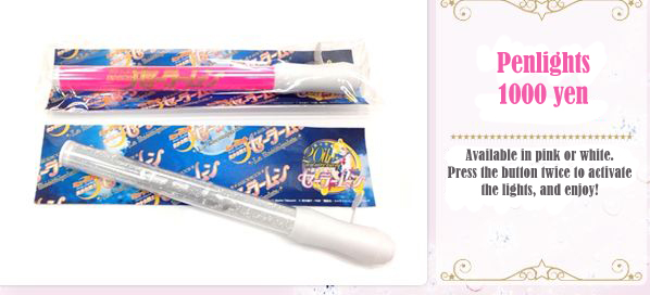 Sailor Moon La Reconquista Official Pen Lights