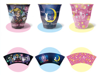 Sailor Moon 2013 Melanine Cups