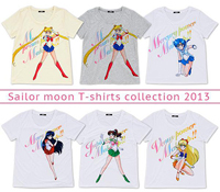 Sailor Moon 2013 T-Shirt Collection