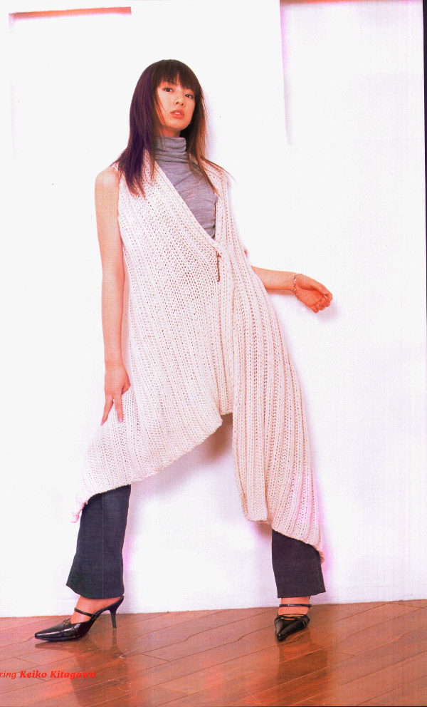 Picture from Keiko Kitagawa interview in NewType The Live magazine March 2004