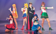 Picture of the main cast of Pretty Guardian Sailor Moon -La Reconquista-